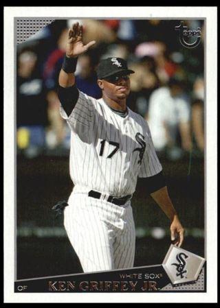 Free Genuine Ken Griffey Jr Baseball Card Foil Letters