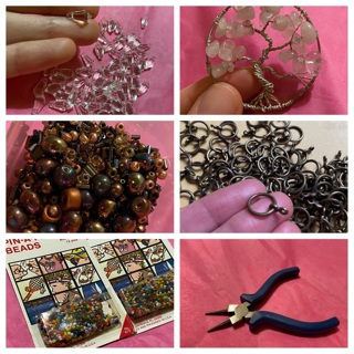 Huge lot of beads and jewelry findings and tools! Growing!!!