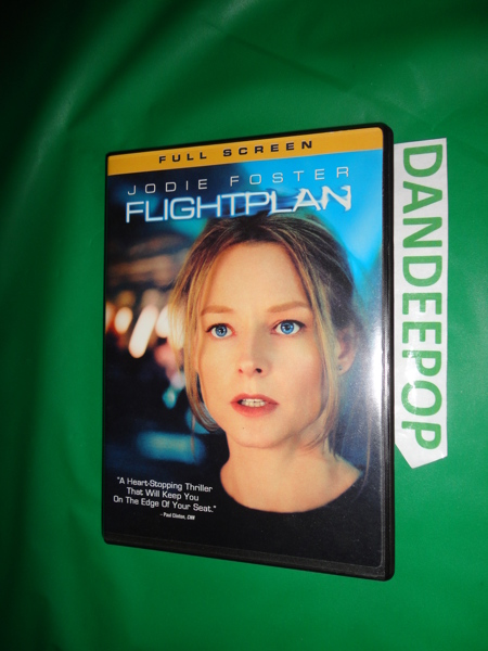 free flight plan full screen dvd movie 2006 dvd auctions for free stuff. Black Bedroom Furniture Sets. Home Design Ideas