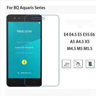 9H Premium Tempered Glass Screen Protector Film For Bq Aquaris E4 E4.5 E5 E5S E6 A5 M4.5 M5 M5.5 A