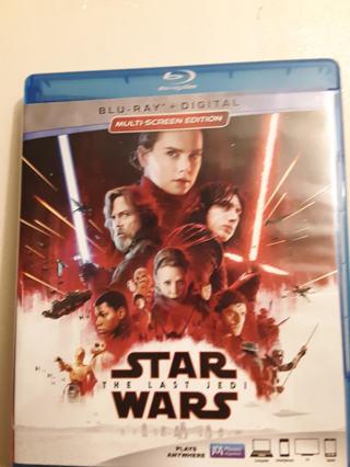 NEW STAR WARS The Last Jedi BLU-RAY + DIGITAL