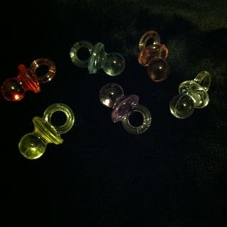 Plastic Baby Binky's