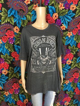 men's guns and roses shirt XL band tshirt