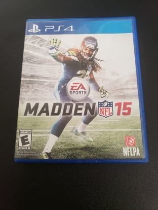 Madden 2015 PS4 game