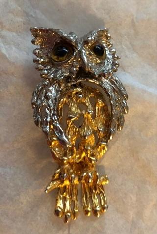 Unique Owl Pendant