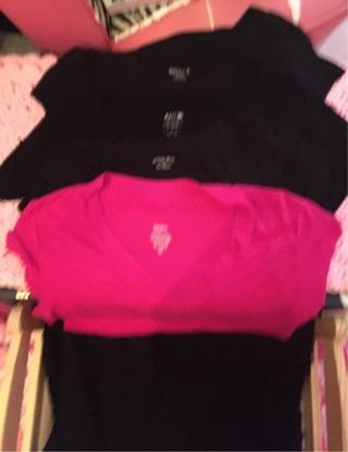 V neck tshirts size M-XL