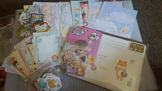 Huge Fun & Awesome Kawaii Lot - LetterSet, Stickers, Memos & More!!