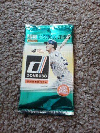 2020 Donruss Pack of Baseball Cards...READ BELOW.
