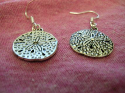 Beautiful Sand Dollar Earrings