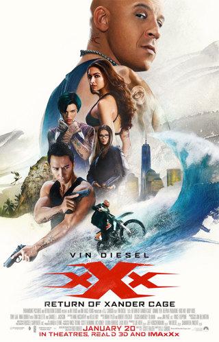 """XXX Return Of Xander Cage"" HDX - ""Vudu"" Digital Movie Code"