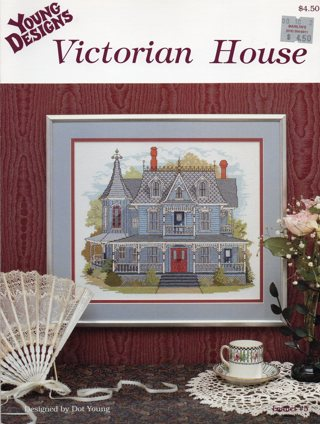Cross Stitch Leaflet: Victorian House