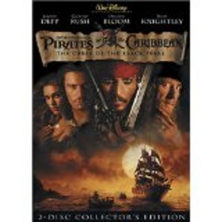 Pirates of the Caribbean the curse of the black pearl dvd 2 disc widescreen