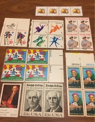 Mint US Stamp lot