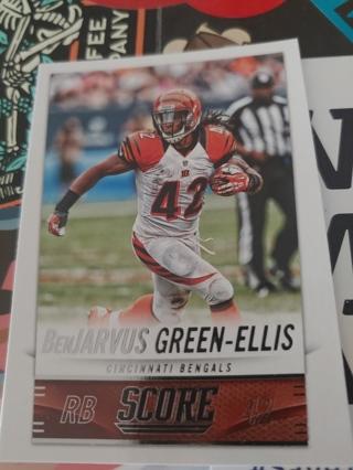 2014 Score BenJarvus Green-Ellis Cincinnati Bengals