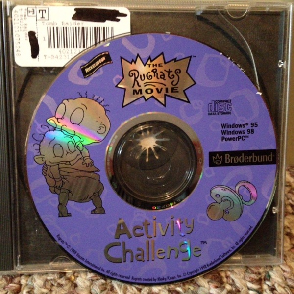 Free: The Rugrats movie: Activity Challenge (PC, 1998) game