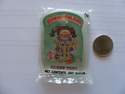 """Make Offer: 1986 TOPPS """"BLESS YOU"""" CABBAGE PAIL KIDS PIN."""