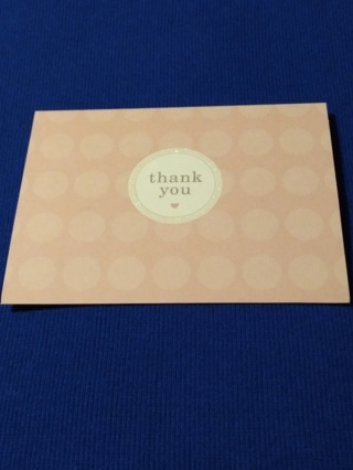 Thank You Notecards - Pink Heart