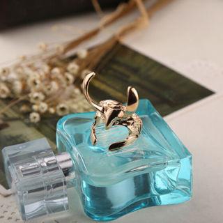 Retro Vintage Movie Jewelry Thor Loki Helmet SilverGold Adjustable Finger Ring