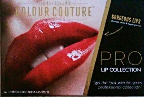Amelia Knight Colour Couture Pro Lip Collection NEW