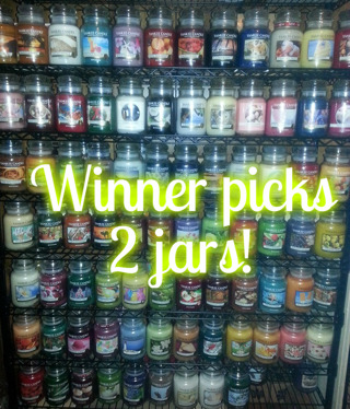 2 Yankee Candles! You choose from over 70 jars!
