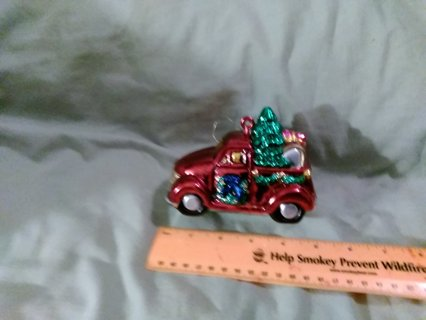#1 large christmas ornament