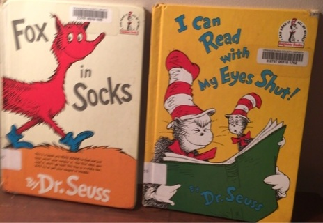 2 books: Dr Seuss library withdrawn