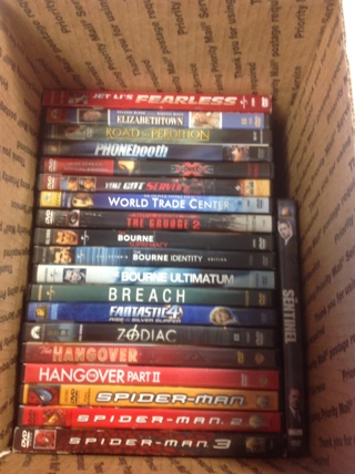 20 Movies - 4 Day Auction