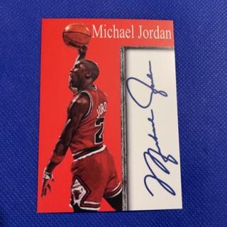 Inkredible memorabilia piece facsimile autograph Michael Jordan
