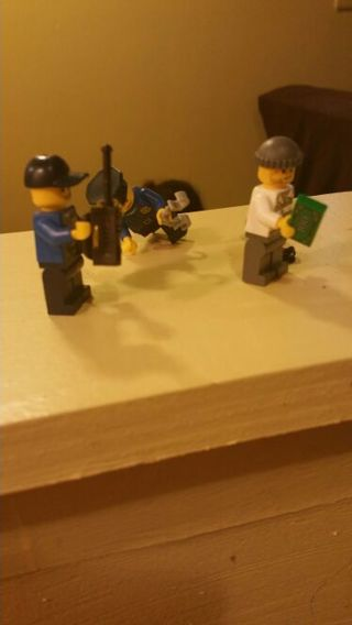 Lego police and robber