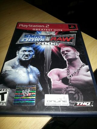 Smack down vs raw 2006