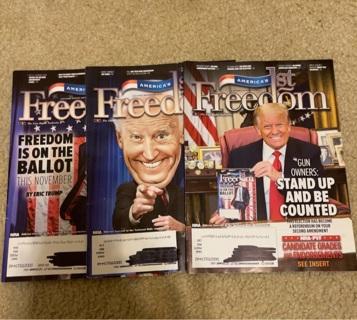 3 America's 1st Freedom Magazines