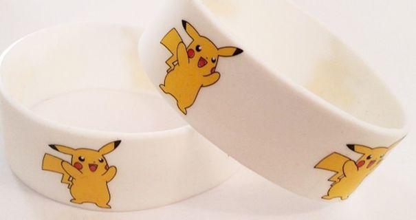 Pokemon Pikachu Wrist Band bracelet POKEMON JEWELRY pocket monster anime GIN