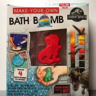 Jurassic World Make Your Own Bath Bomb