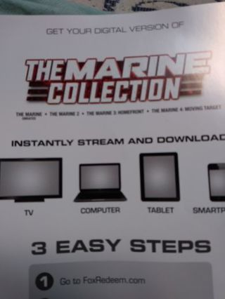 Digital code for the marine collection