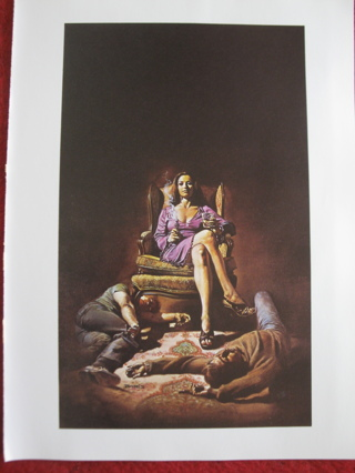 "vintage Boris Vallejo: Hatchett - 11.5"" x 8.5"" Print"