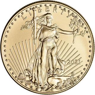 2021 One Ounce Gold Eagle Coin