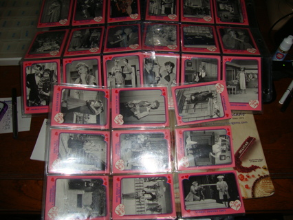 54 i love lucy trading cards in plastic sleeves - Plastic Sleeves For Cards