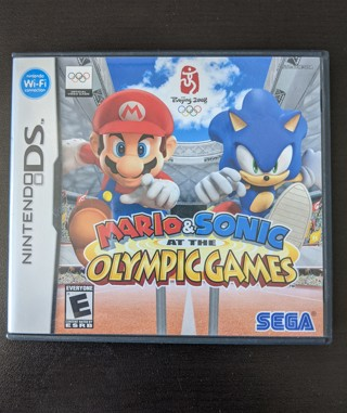 Nintendo DS - Mario and Sonic At The Olympic Games