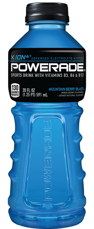 40 POWERADE CAPS FOR YOUR REWARD POINTS