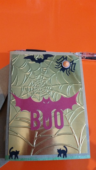 ~~HALLOWEEN HAND CRAFTED CARD!!~~