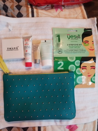 IPSY Bag filled with Facial Products