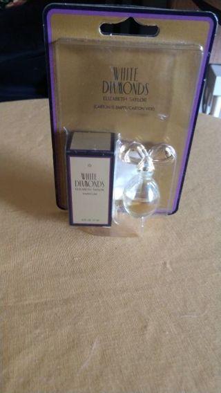 Brand new! White Diamonds by Elizabeth Taylor PARFUM 12-oz bottle. Free shipping