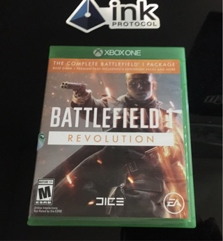 Battlefield 1 Revolution Edition - Xbox One Code Like new included code