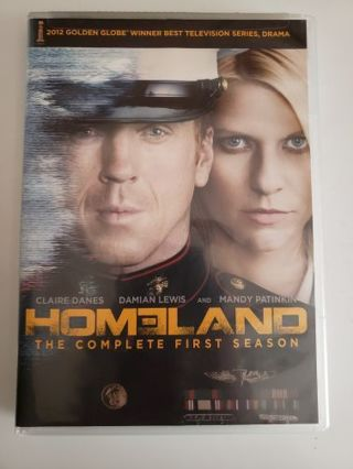 The first complete first season of Homeland