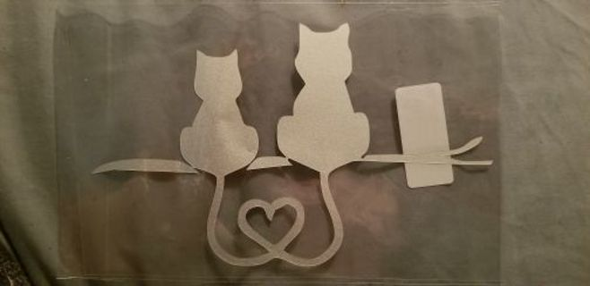 Kitty Cat Decal