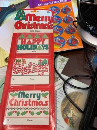 Vintage Christmas Gift Tags / Trims
