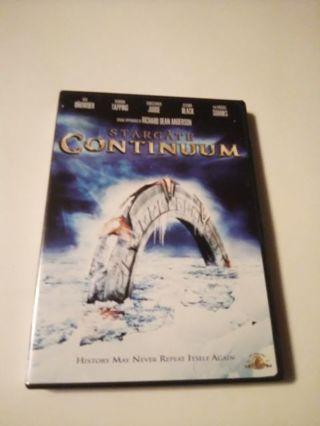 DVD-STARGATE CONTINUUM