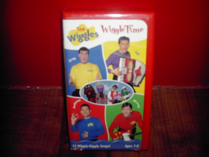 Free: THE WIGGLES:WIGGLE TIME,vhs - Other DVDs & Movies