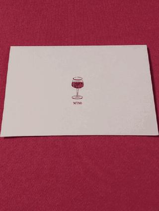 Notecards - Wine