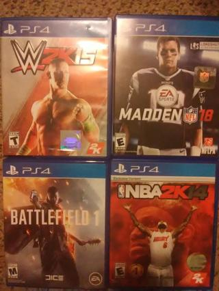 Winner's of Choice of any 2 games - DS XBOX 360 PS3 PS4 Wii